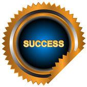 Icône de la réussite — Vecteur