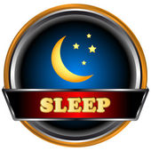 Sleep logo — Stock Vector