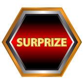 Surprize logo — Stock Vector