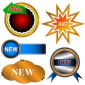Nieuwe iconen set — Stockvector