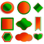 Set of various forms — Stock Vector