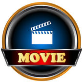 Movie logo — Stock Vector