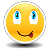 Symbol des lächelns — Stockvektor