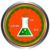Scientific icon — Stock Vector