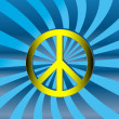Royalty-Free Stock Imagem Vetorial: Peace sign