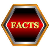 Logo de faits — Vecteur