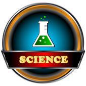 Icona di scienza — Vettoriale Stock