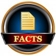 Постер, плакат: Facts icon