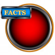Facts icon - Stock Vector
