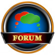 Stock Vector: Forum symbol