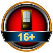 16 プラス記号のアイコン — ストックベクタ