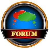 Forum symbol — Stock Vector