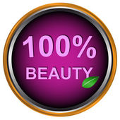 New beauty icon — Stock Vector