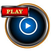 Play icon — Stock Vector