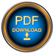 Pdf download icon — Stockvektor