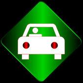 Araba işareti — Stok Vektör