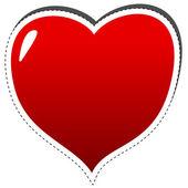 Hjärta ikon — Stockvektor
