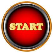 Pulsante start — Vettoriale Stock