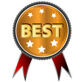 Best icon — Stock Vector