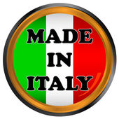 Made in italy icon — Stock Vector