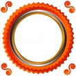 Icon in orange style — Stock Vector #19375747