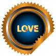 Stock Vector: Love icon