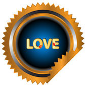 Love icon — Stock Vector