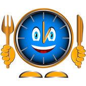Tijd om te eten — Stockvector