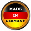 Royalty-Free Stock Vector Image: Made in germany icon