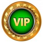 Vip logo — Stock Vector