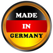 Made in germany icon — Stock Vector
