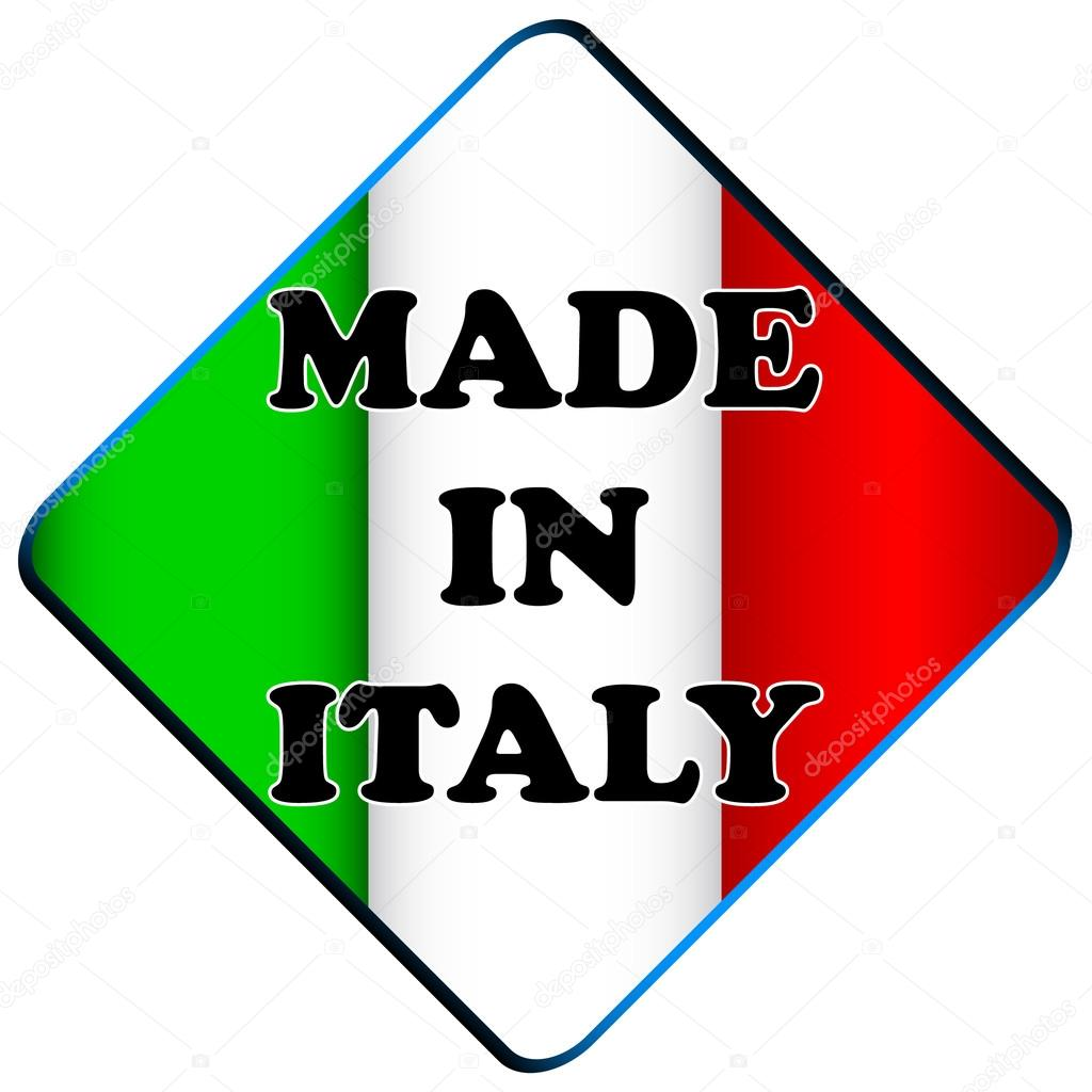 Lugo Italy  City pictures : Made in italy logo — Stock Vector © ylivdesign #19702993
