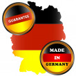 Made in germany icon - Stock Vector