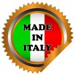 Made in italy icon - Stock Vector