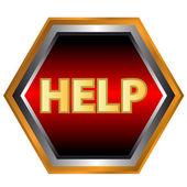 Help icon — Stock Vector