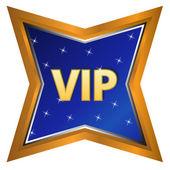 Vip symbol — Stock Vector