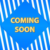 Coming soon banner — Vector de stock