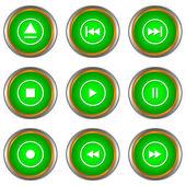 Oyuncu simgeler kümesi — Stok Vektör