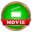 Movie logo - Stock Vector