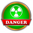 Danger logo - Stock Vector