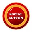 Social button - Stock Vector