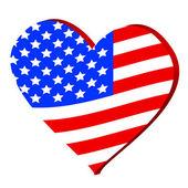 Love for America — Stockvektor