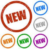 New vector labels — Stock Vector