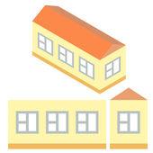 Isometric home — Stock Vector