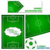 Fotboll set — Stockvektor