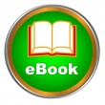 Green ebook icon — Stock Vector