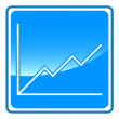Chart icon — Stockvectorbeeld