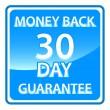 30 days money back guarantee — Stock Vector #36127503