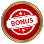 Grunge icon with the text bonus — Stock Vector #36127511