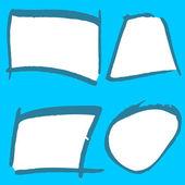 Icônes dessinés à la main — Vecteur